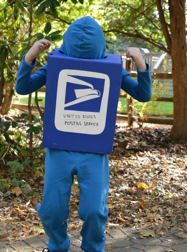 Mailbox Halloween Costume