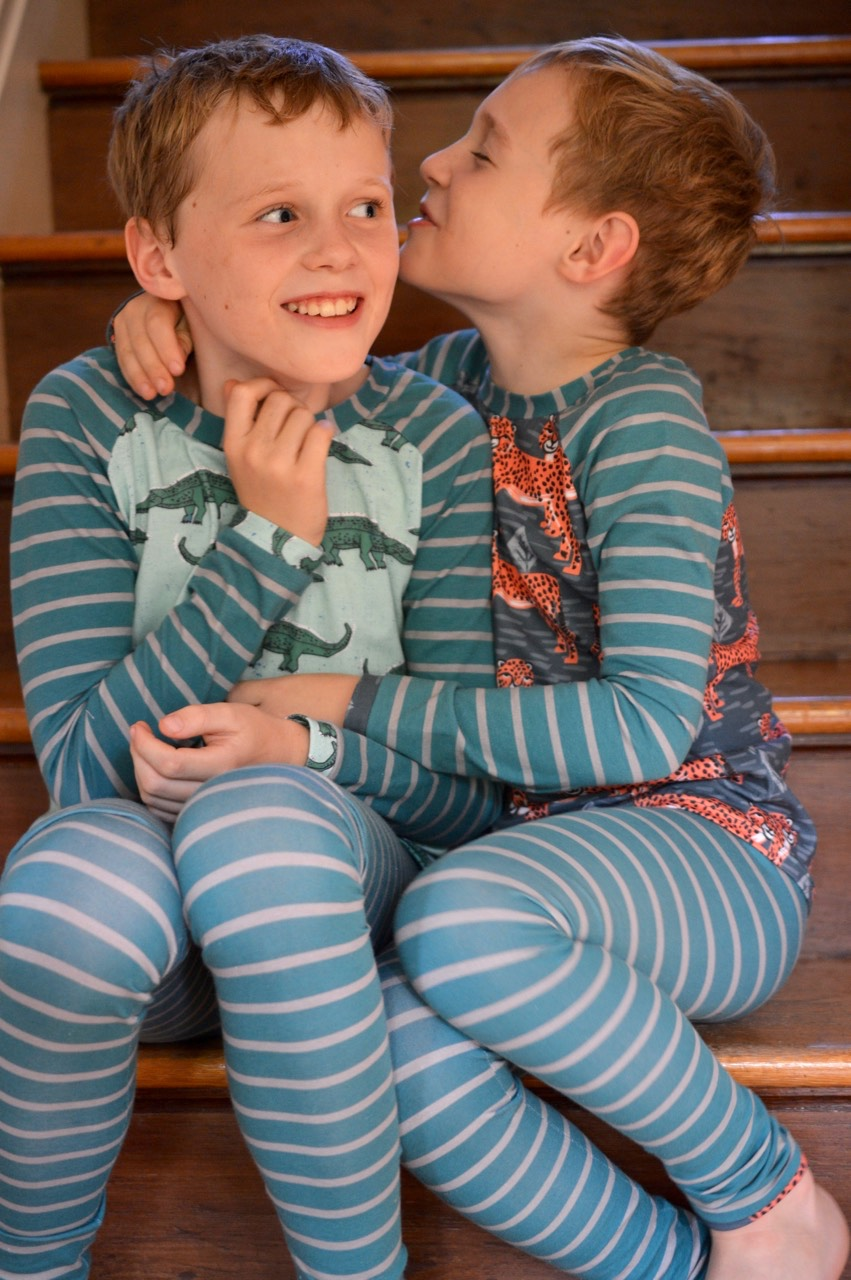 Kids Clothes Week Wild Animals In Pajamas A Happy