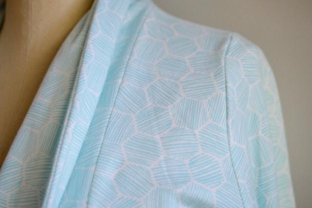 Cloud 9 Fabric Organic Knits :: Julia Cardigan detail
