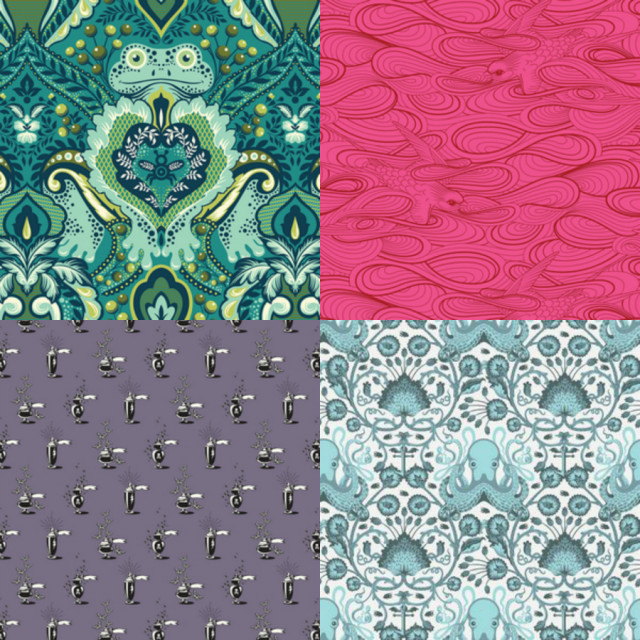 Tula Pink Fabric Archive