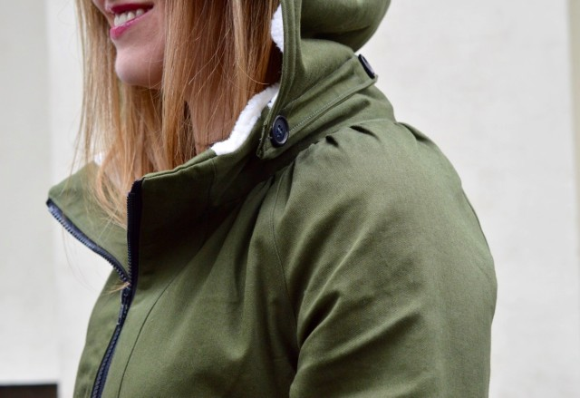 Minoru Jacket // a happy stitch
