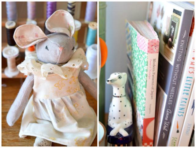 Where I Sew : sewing studio tour // a happy stitch