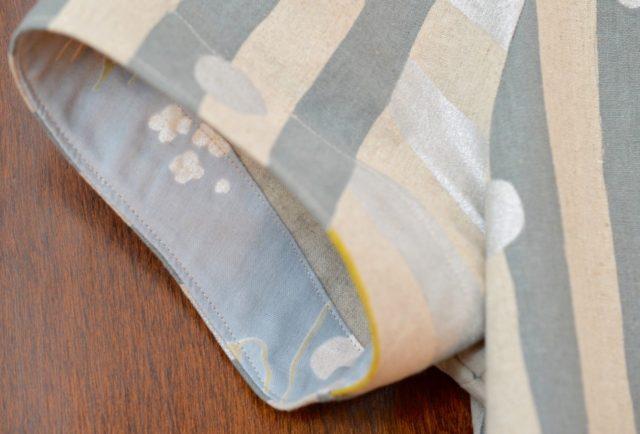 Nani Iro Sailor Top Dress detail | a-happy-stitch