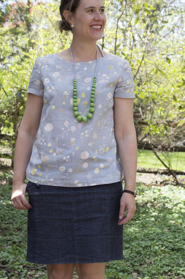 Esme Boatneck Top | a happy stitch