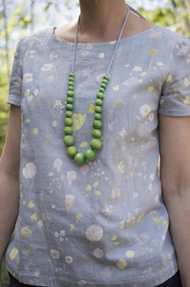 Esme Top in Double Gauze Nani Iro | a happy stitch