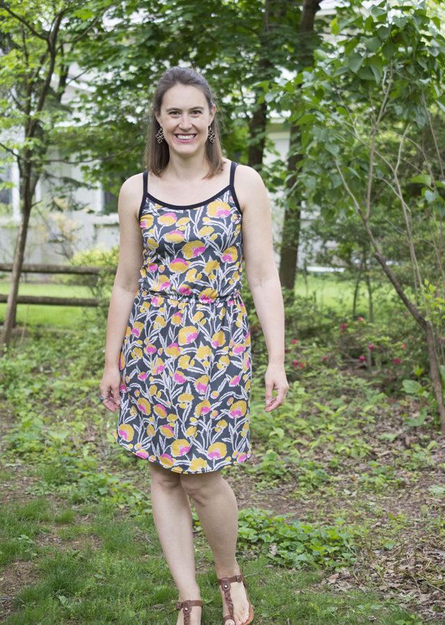 Project Sew It :: Adelia Dress | a happy stitch