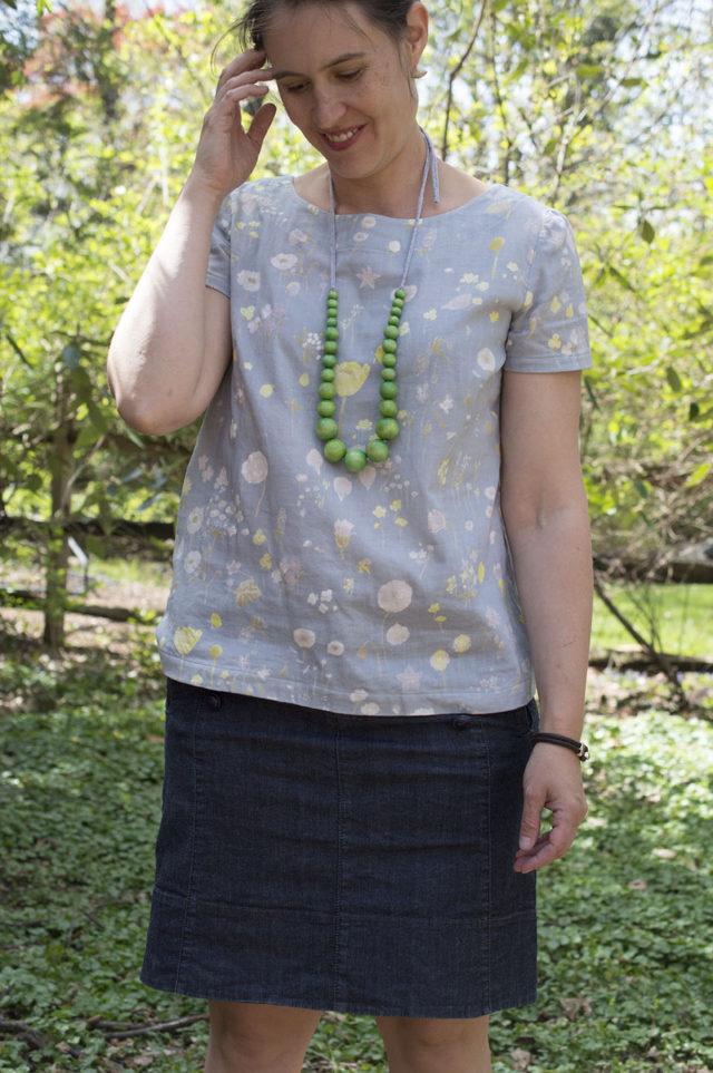 The Esme (in luscious Nani Iro) | a happy stitch