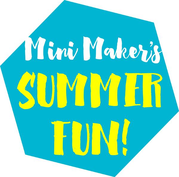 Mini Maker's Summer Fun Series |a happy stitch