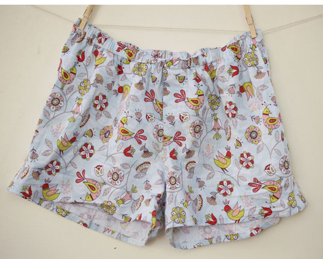 Boxers with Birdies_a happy stitch sewing for dudes