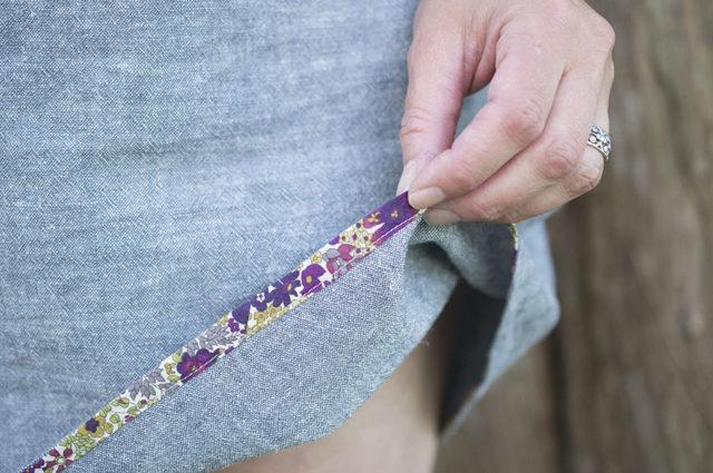 Sorbetto Sundress detail | a happy stitch