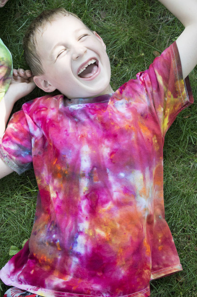 Ice Painting Tees | a happy stitch