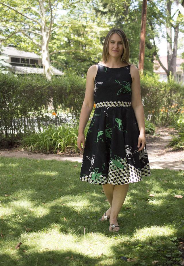 Sundress_The Olive Dress | a happy stitch