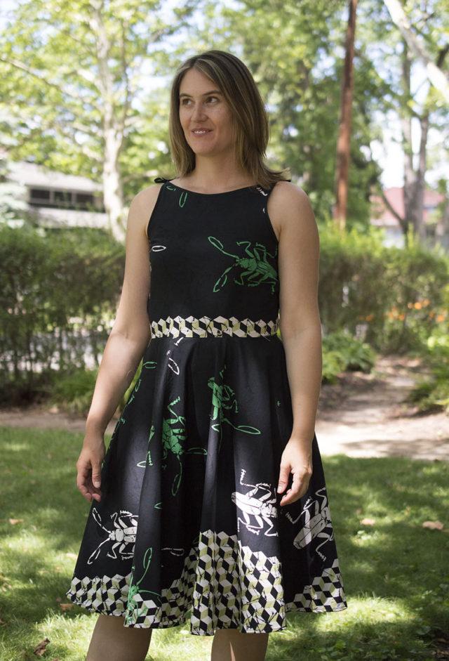 Sundressing-the Olive Dress | a happy stitch
