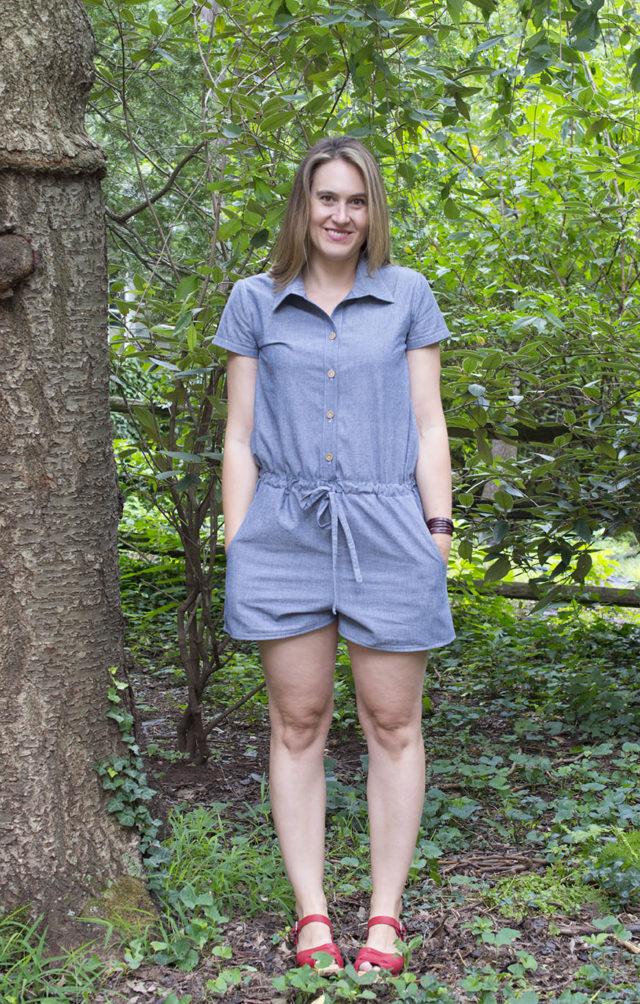 Sanibel Romber in Light Denim | a happy stitch