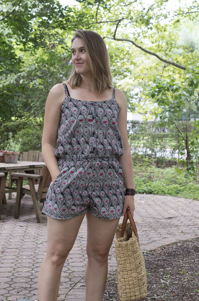 Sanibel Romper Pattern Hack | a happy stitch