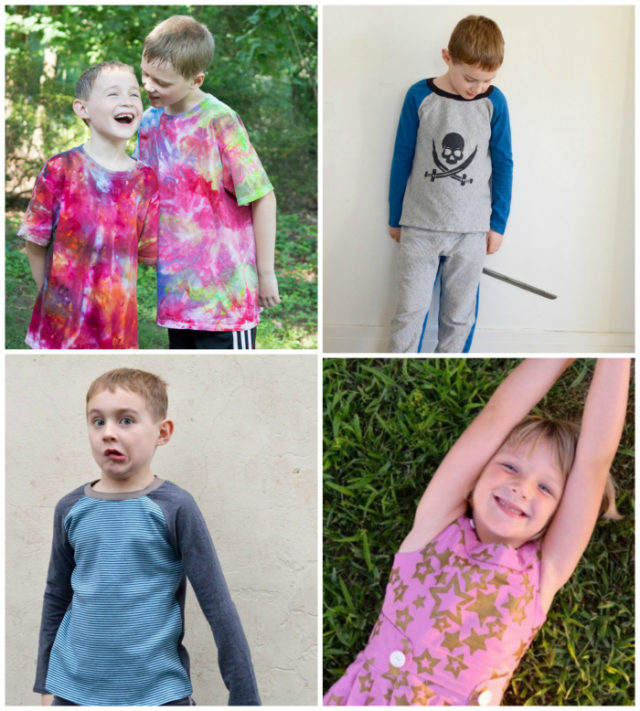 Look At You 2016! Handmade Kid's Clothing of 2016 by A Happy Stitch