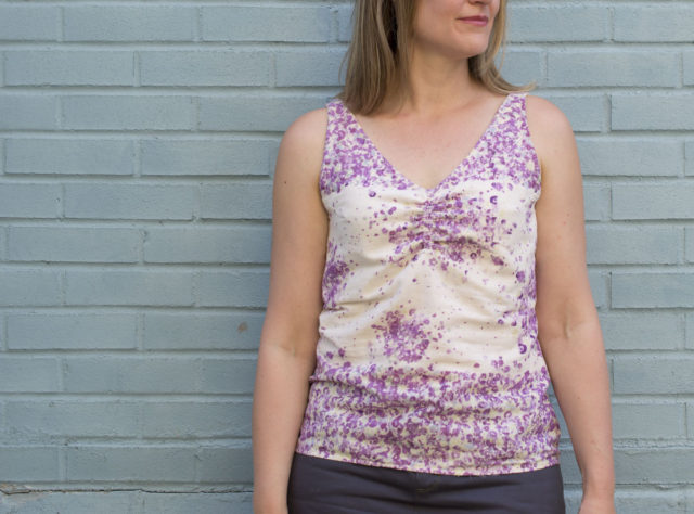 Delpy Ballet Top || sewn by a happy stitch