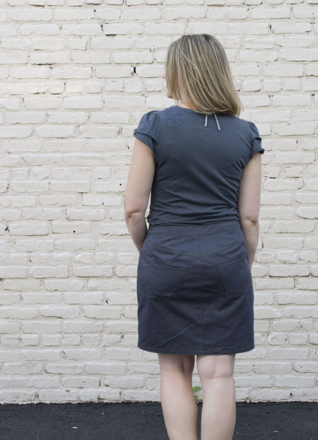 Sandbridge Skirt - another great pattern from Hey June Handmade :: Sewn by a happy stitch
