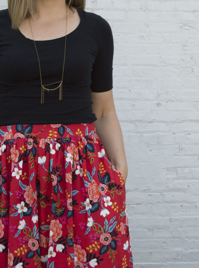 Summer Showcase :: the Cleo Skirt from Made by Rae || Sewn by A Happy Stitch