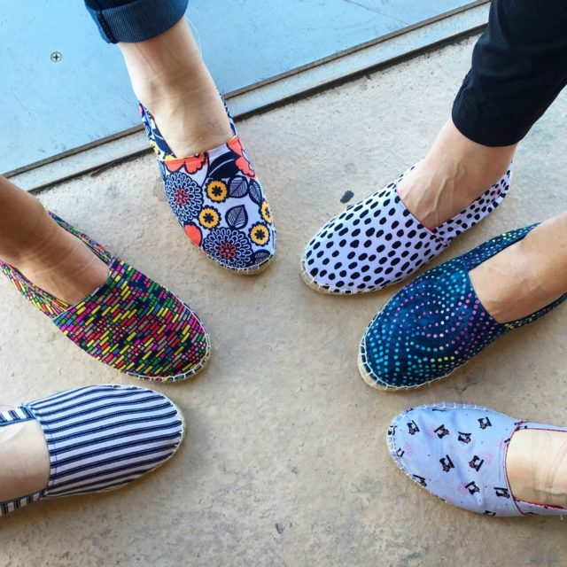 CraftcatIon :: A Creative Person's Conference :: THE ESPADRILLES CLASS || Overview by A HAPPY STITCH