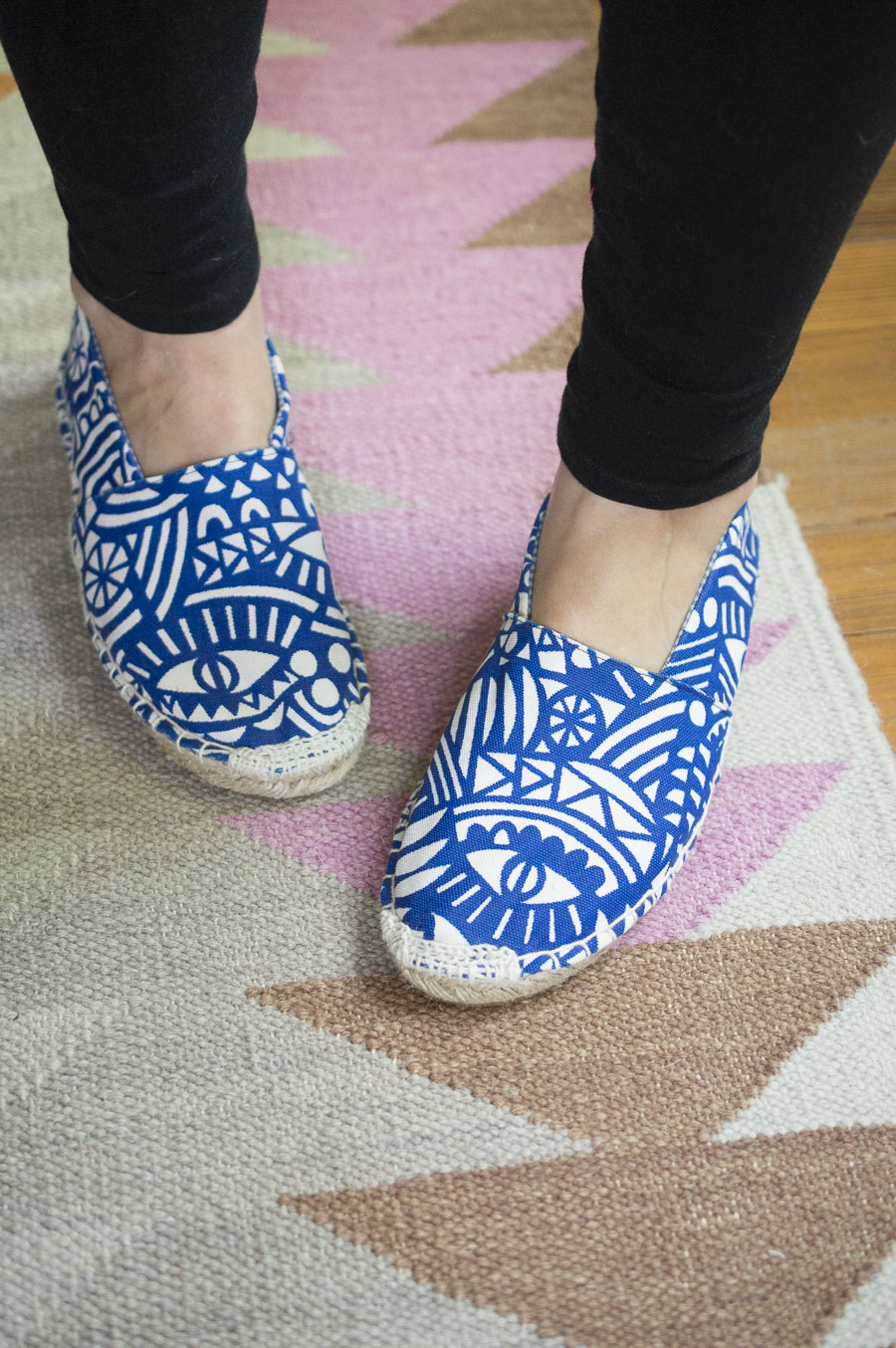 Evil Eye Espadrilles || THE ESPADRILLES KIT || Everything You Need to Make Your Own Shoes || A Happy Stitch