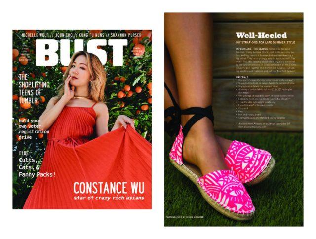 DIY Espadrilles- Bust Magazine