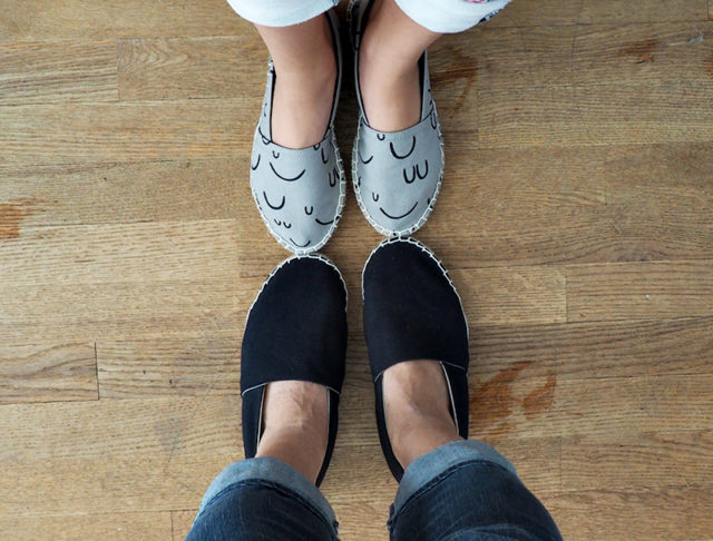 THE ESPADRILLES KIT BLOG TOUR - Sanae's Mother-Daughter Pair