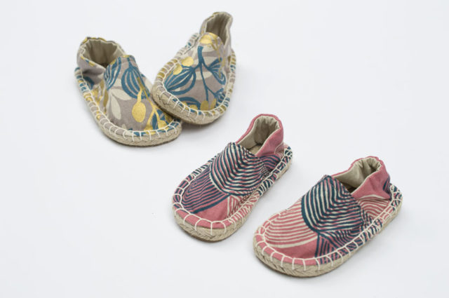 Espadrille Shoes for Kids and Toddlers - Handmade Shoes - Make Your Own Shoes - DIY Shoes - A HAPPY STITCH