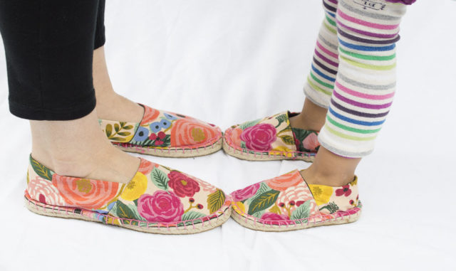 Espadrille Kits - MY FEET & YOURS shoe-making DIY Kits - A HAPPY STITCH