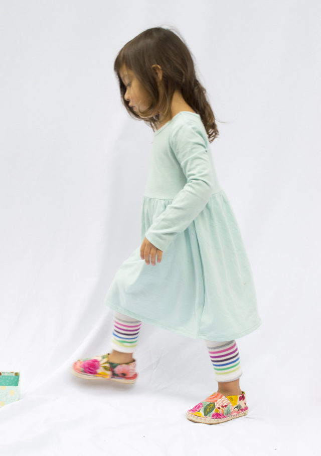 KID espadrille Kits - Make Your Own Shoes - DIY Shoes - A HAPPY STITCH