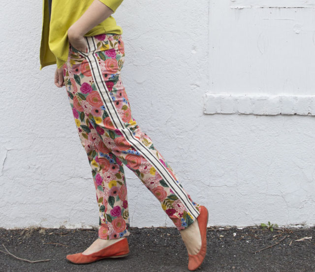 FLORAL Chi-Town Chinos : sewn by A HAPPY STITCH