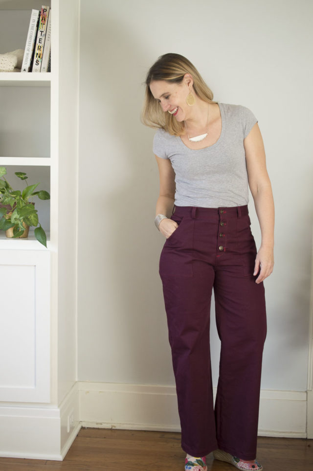 Lander Pants - A HAPPY STITCH