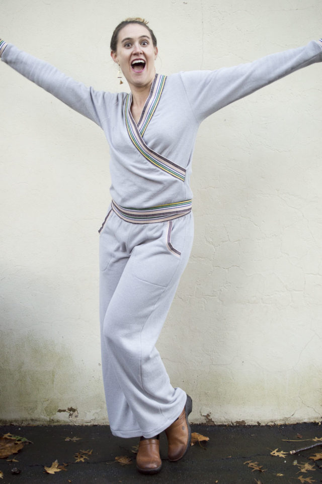 Cozy Striped Tracksuit - EveryDay Loungewear - A HAPPY STITCH