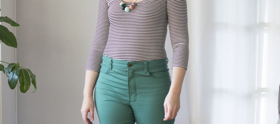 Nettie Bodysuit and Ginger Jeans : IndieSew Blogger Team