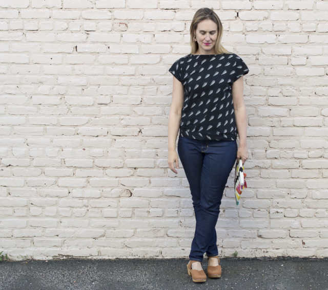 LA BREA tee from Halfmoon Atelier - A HAPPY STITCH