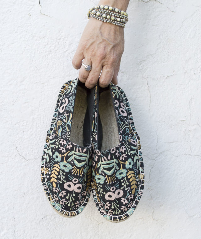THE ESPADRILLES KIT -Summer 2019 Collection - A HAPPY STITCH