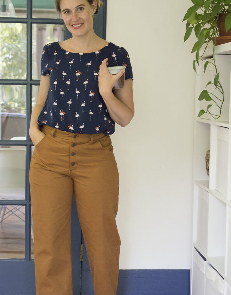 Sienna Lander Pants + Flamingo Georgia Top
