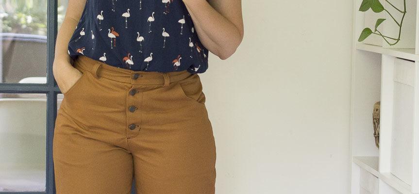 Sienna Lander Pants + Flamingo Georgia Top