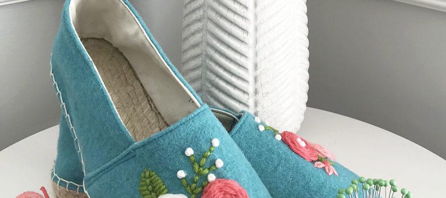 Cozy Rosette Espadrilles from Betz White