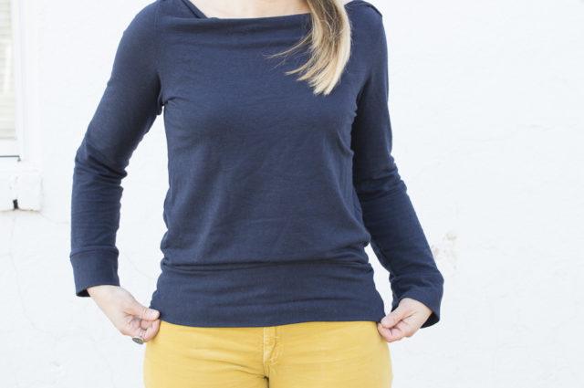 Anegada Sweatshirt from Halfmoon Atelier _ A HAPPY STITCH