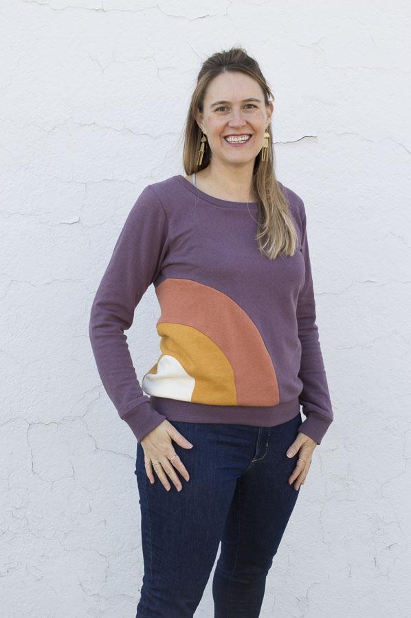 Rainbow Hippie Child Sweatshirt