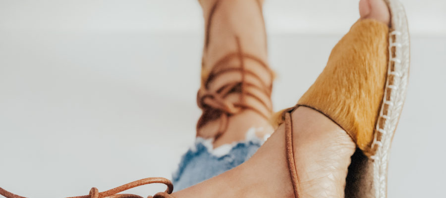 Artist Series : Hair-On Leather Espadrilles from Nikki and Mallory