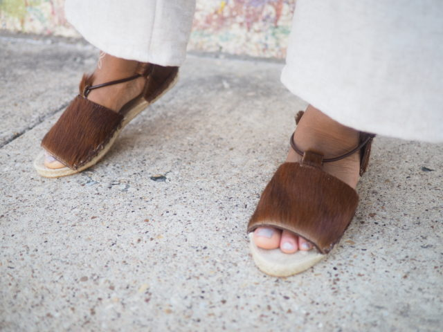 How to wear espadrilles WITH Alexis Bailey_ THE ESPADRILLES KIT - A HAPPY STITCH