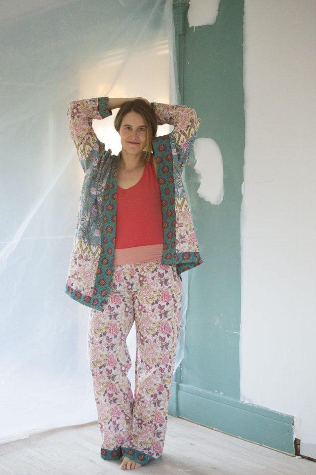 Print Mixed Lounge Set by Melissa Quaal of A HAPPY STITCH