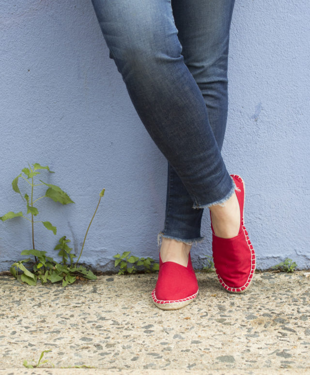 Organic Red Espadrilles_THE ESPADRILLES KIT_ by Melissa Quaal of A HAPPY STITCH_1