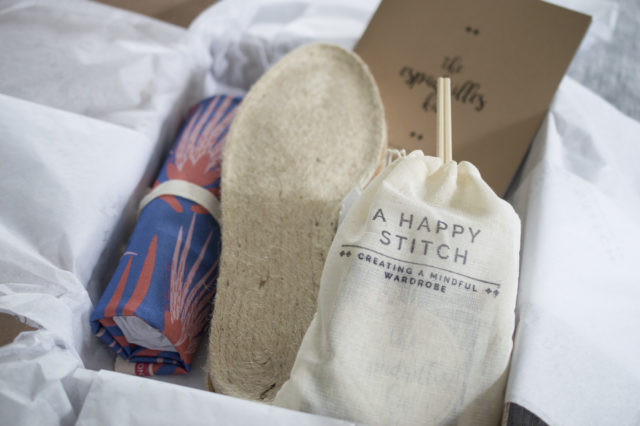 Katie Kortman Espadrilles_Lush and Wild Espadrilles Kits_by Melissa Quaal of A HAPPY STITCH_